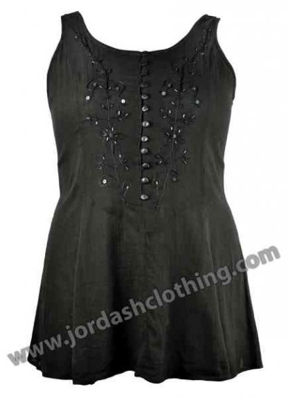 Jordash Blouse Black Size L-XL