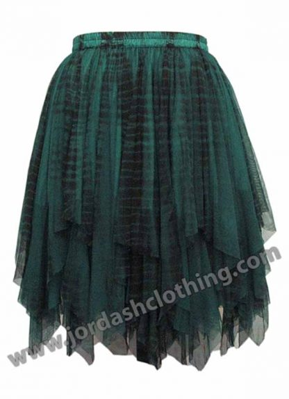 Dark Star Skirt Black And Green