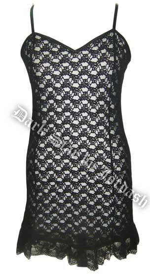 Dark Star Dress Black