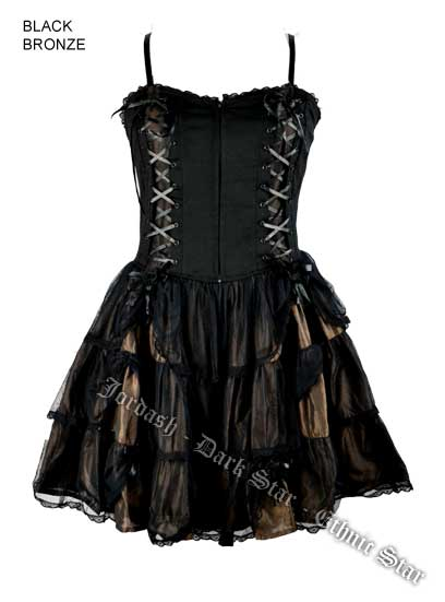 Dark Star Dress Black