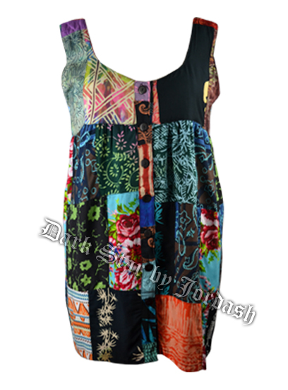 Jordash Dress Patchwork Asstd