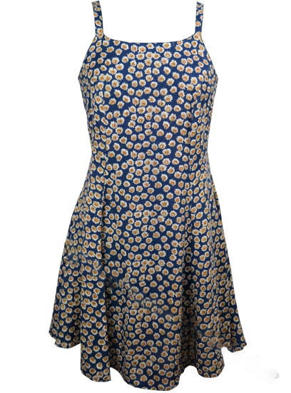Dress Mini in Daisy Print