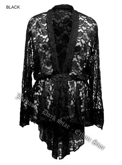 Jacket Lace Unlined Black