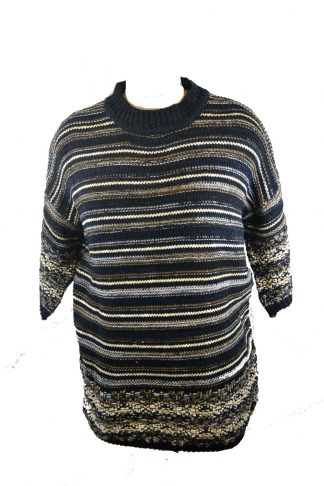 Jumper Knitted Grey One Size