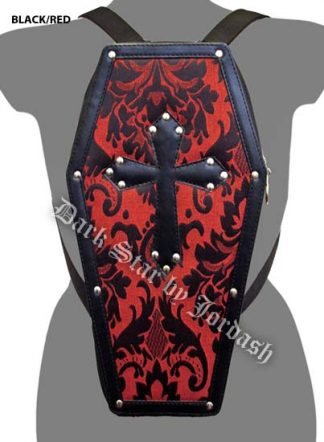Bag Coffin Brocade In Black