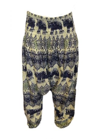 Trousers Harem Style Printed