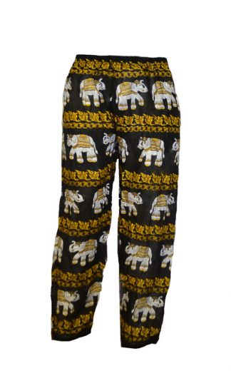 Trousers Printed Elasticated
