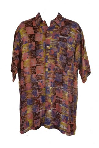 Shirt Mens Batik Size 46