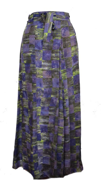 Skirt Wrap Around Blue