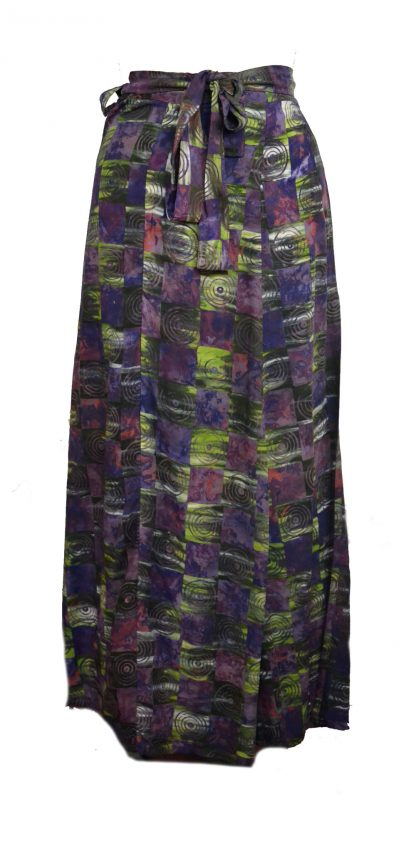 Skirt Wrap Around Purple