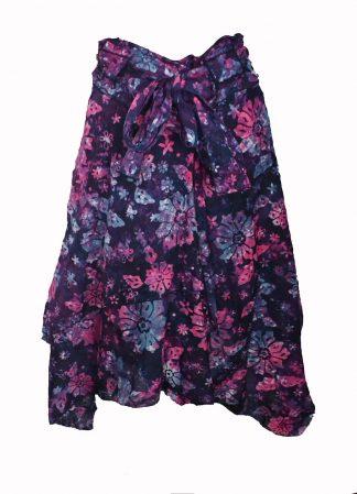 Skirt Zig Zag Purple
