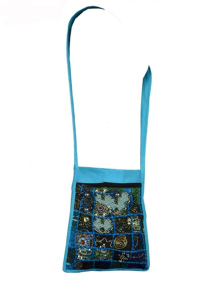 Jordash Bag Turquoise Ethnic